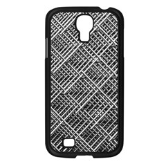 Grid Wire Mesh Stainless Rods Rods Raster Samsung Galaxy S4 I9500/ I9505 Case (black)