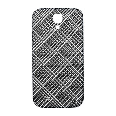 Grid Wire Mesh Stainless Rods Rods Raster Samsung Galaxy S4 I9500/i9505  Hardshell Back Case