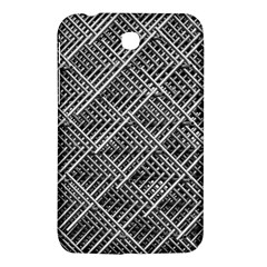 Grid Wire Mesh Stainless Rods Rods Raster Samsung Galaxy Tab 3 (7 ) P3200 Hardshell Case