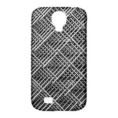 Grid Wire Mesh Stainless Rods Rods Raster Samsung Galaxy S4 Classic Hardshell Case (pc+silicone)