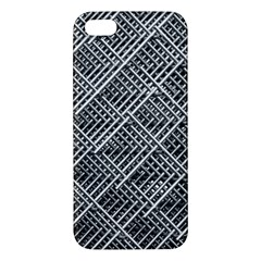 Grid Wire Mesh Stainless Rods Rods Raster Iphone 5s/ Se Premium Hardshell Case