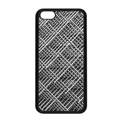 Grid Wire Mesh Stainless Rods Rods Raster Apple Iphone 5c Seamless Case (black)