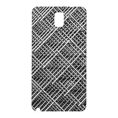 Grid Wire Mesh Stainless Rods Rods Raster Samsung Galaxy Note 3 N9005 Hardshell Back Case