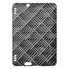 Grid Wire Mesh Stainless Rods Rods Raster Kindle Fire Hdx Hardshell Case