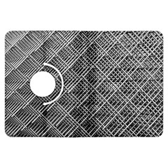 Grid Wire Mesh Stainless Rods Rods Raster Kindle Fire Hdx Flip 360 Case