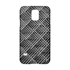 Grid Wire Mesh Stainless Rods Rods Raster Samsung Galaxy S5 Hardshell Case