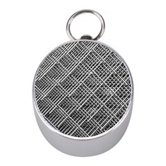 Grid Wire Mesh Stainless Rods Rods Raster Mini Silver Compasses