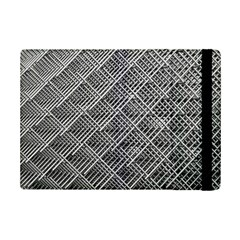 Grid Wire Mesh Stainless Rods Rods Raster Ipad Mini 2 Flip Cases