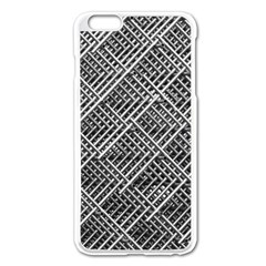 Grid Wire Mesh Stainless Rods Rods Raster Apple Iphone 6 Plus/6s Plus Enamel White Case