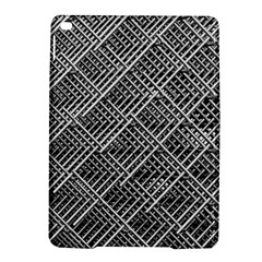 Grid Wire Mesh Stainless Rods Rods Raster Ipad Air 2 Hardshell Cases