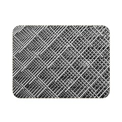 Grid Wire Mesh Stainless Rods Rods Raster Double Sided Flano Blanket (mini)