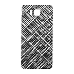 Grid Wire Mesh Stainless Rods Rods Raster Samsung Galaxy Alpha Hardshell Back Case