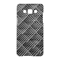 Grid Wire Mesh Stainless Rods Rods Raster Samsung Galaxy A5 Hardshell Case
