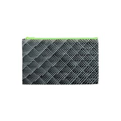 Grid Wire Mesh Stainless Rods Rods Raster Cosmetic Bag (xs)