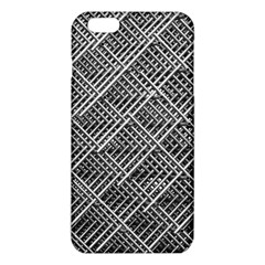 Grid Wire Mesh Stainless Rods Rods Raster iPhone 6 Plus/6S Plus TPU Case