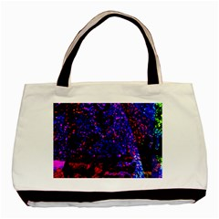 Grunge Abstract Basic Tote Bag (two Sides)