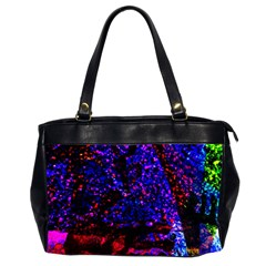 Grunge Abstract Office Handbags (2 Sides)