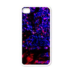 Grunge Abstract Apple Iphone 4 Case (white)