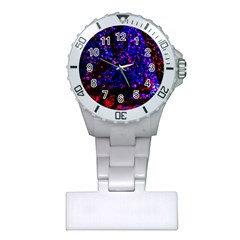 Grunge Abstract Plastic Nurses Watch