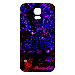 Grunge Abstract Samsung Galaxy S5 Back Case (white)