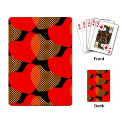 Heart Pattern Playing Card