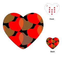 Heart Pattern Playing Cards (Heart)