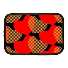 Heart Pattern Netbook Case (medium)