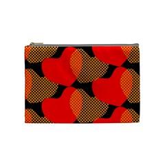 Heart Pattern Cosmetic Bag (Medium)