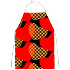 Heart Pattern Full Print Aprons