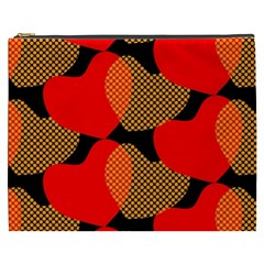Heart Pattern Cosmetic Bag (xxxl)