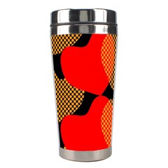 Heart Pattern Stainless Steel Travel Tumblers