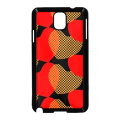 Heart Pattern Samsung Galaxy Note 3 Neo Hardshell Case (black)