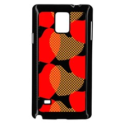 Heart Pattern Samsung Galaxy Note 4 Case (black)