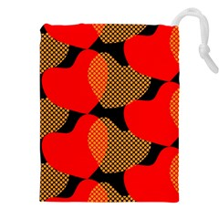 Heart Pattern Drawstring Pouches (xxl)