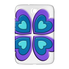 Light Blue Heart Images Samsung Galaxy Note 8 0 N5100 Hardshell Case