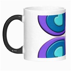 Light Blue Heart Images Morph Mugs