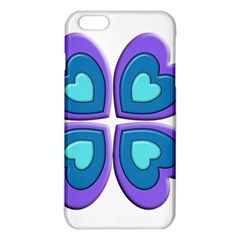 Light Blue Heart Images Iphone 6 Plus/6s Plus Tpu Case