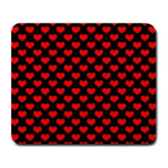 Love Pattern Hearts Background Large Mousepads