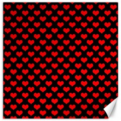 Love Pattern Hearts Background Canvas 16  X 16