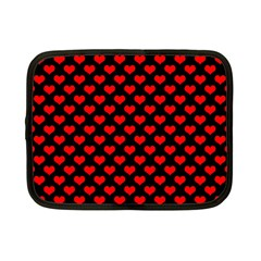Love Pattern Hearts Background Netbook Case (small)