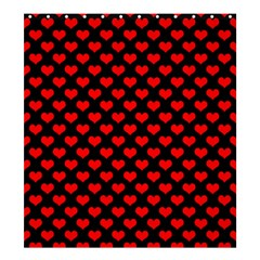 Love Pattern Hearts Background Shower Curtain 66  X 72  (large)