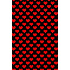 Love Pattern Hearts Background 5 5  X 8 5  Notebooks