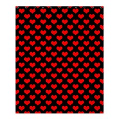 Love Pattern Hearts Background Shower Curtain 60  X 72  (medium)