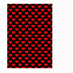 Love Pattern Hearts Background Large Garden Flag (two Sides)