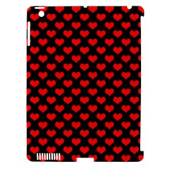 Love Pattern Hearts Background Apple Ipad 3/4 Hardshell Case (compatible With Smart Cover)