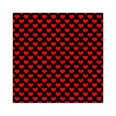 Love Pattern Hearts Background Acrylic Tangram Puzzle (6  X 6 )