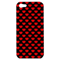Love Pattern Hearts Background Apple Iphone 5 Hardshell Case