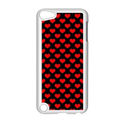 Love Pattern Hearts Background Apple Ipod Touch 5 Case (white)