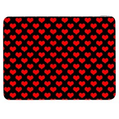 Love Pattern Hearts Background Samsung Galaxy Tab 7  P1000 Flip Case