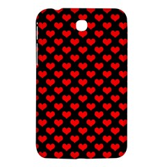 Love Pattern Hearts Background Samsung Galaxy Tab 3 (7 ) P3200 Hardshell Case